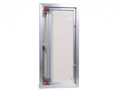 Revizinės durelės, aliumininės ETP 500 x 900 3