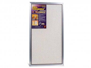 Revizinės durelės, aliumininės ETP 500 x 900 4