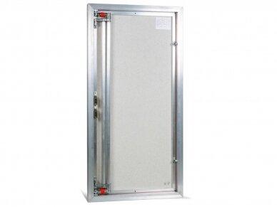 Revizinės durelės, aliumininės ETP 600 x 1000 3