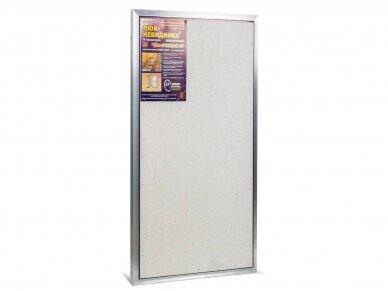 Revizinės durelės, aliumininės ETP 600 x 1000 4