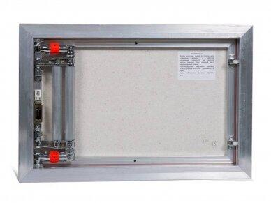 Revizinės durelės, aliumininės ETP 600 x 400 3