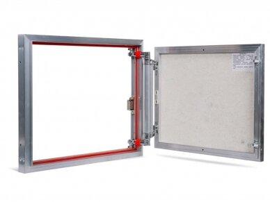 Revizinės durelės, aliumininės (plytelėms) ETP 600 x 500
