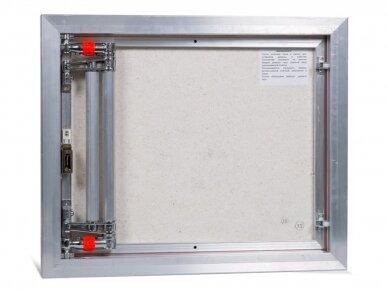 Revizinės durelės, aliumininės ETP 600 x 500 3