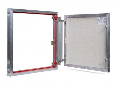 Revizinės durelės, aliumininės ETP 600 x 600