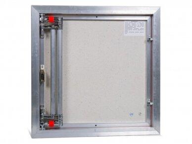Revizinės durelės, aliumininės (plytelėms) ETP 600 x 600 3