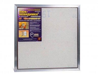 Revizinės durelės, aliumininės (plytelėms) ETP 600 x 600 4