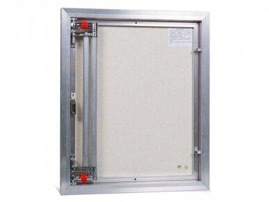Revizinės durelės, aliumininės ETP 600 x 700 3