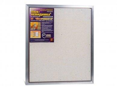 Revizinės durelės, aliumininės (plytelėms) ETP 600 x 700 4