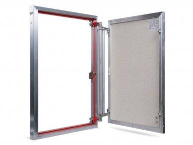 Revizinės durelės, aliumininės ETP 600 x 800