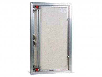 Revizinės durelės, aliumininės ETP 600 x 800 3