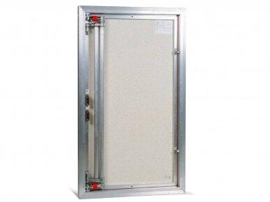 Revizinės durelės, aliumininės ETP 600 x 900 3