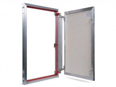 Revizinės durelės, aliumininės ETP 600 x 900