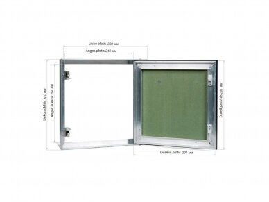 Revizinės durelės, dažomos TABLET 300x300 2