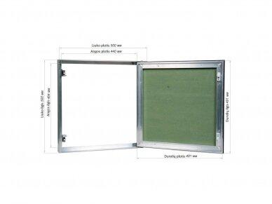Revizinės durelės, dažomos TABLET 500x500 2