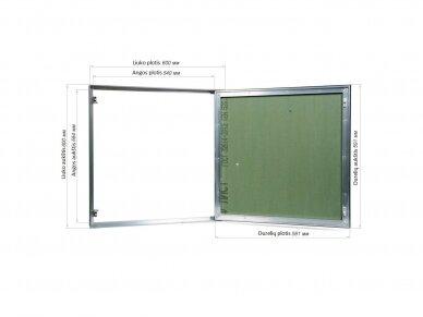 Revizinės durelės, dažomos TABLET 600x600 2