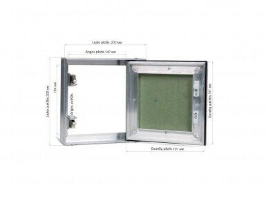 Revizinės durelės, dažomos TABLET 200x200 2