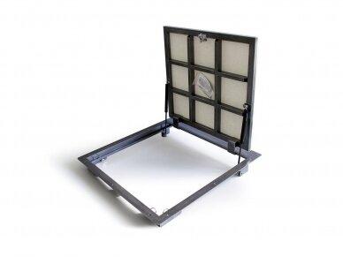 Revizinės durelės grindims PORTAL 600x600 2