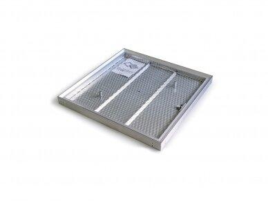 Revizinės durelės grindims BARIER 300 x 300