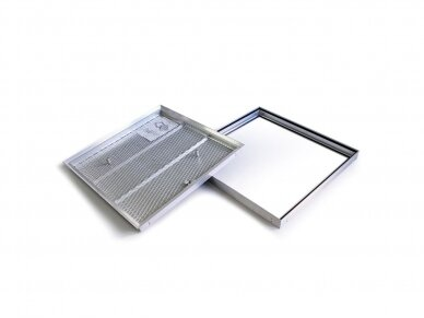 Revizinės durelės grindims BARIER 300x300 3