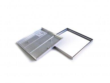 Revizinės durelės grindims BARIER 300 x 300 3