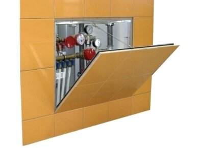 Revizinės durelės plytėlėms Kontur-2, išimamos 200 x 400 4