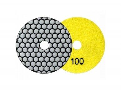 Poliravimo diskas SENDI Ø100MM #50 - 400 3
