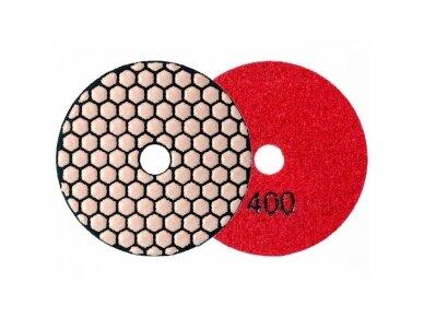 Poliravimo diskas SENDI Ø100MM #50 - 400 5