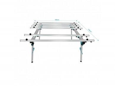 Stalas plytelių pjovimui/gręžimui BIHUI 180X140CM