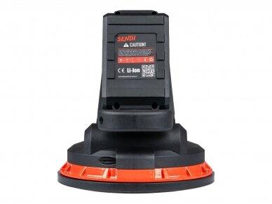 Vibro padas / pritraukėjas plytelėms akumuliatorinis SENDI VSC-18 5