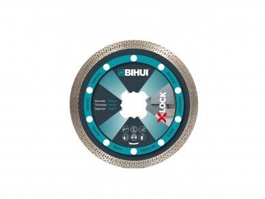 125MM BIHUI X LOCK WAVE Deimantinis diskas X-Lock jungčiai